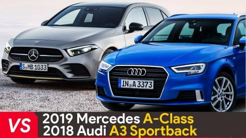 2019 Mercedes A Class Vs Audi A3 Sportback