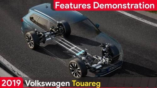 2019 Volkswagen Touareg FEATURES DEMONSTRATION
