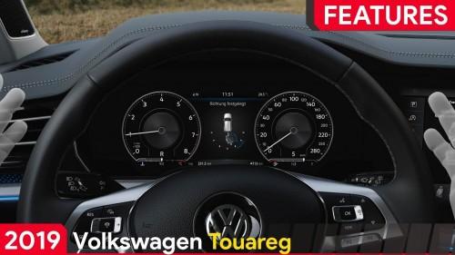 2019 Volkswagen Touareg Features