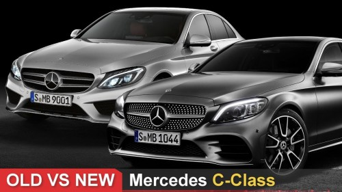 Old Vs New Mercedes C Class