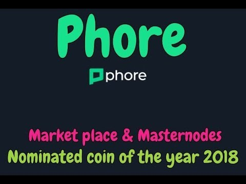 Phore – Decentralized commerce on a global scale! Great Masternode