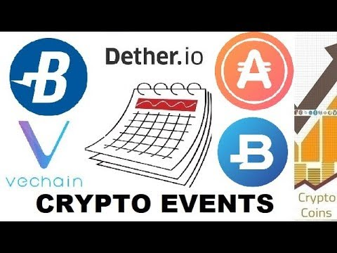 Upcoming Cryptocurrency Events (9th-16th of June) – Burst, AppCoins, Vechain, Dether, Bitbay