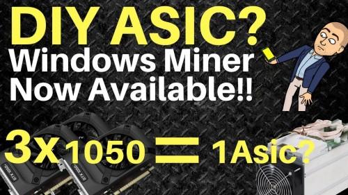 """DIY ASIC"" Mine Bytom on a GPU! Windows miner is available NOW"