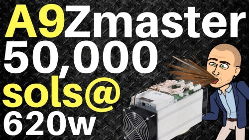 Innosilicon A9 ZMaster -$160/day- The Nail In The Equihash Coffin